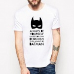 Koszulka męska t-shirt BATMAN be yourself  (B1)