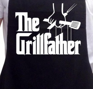 Fartuch kuchenny ~ The Grillfather...